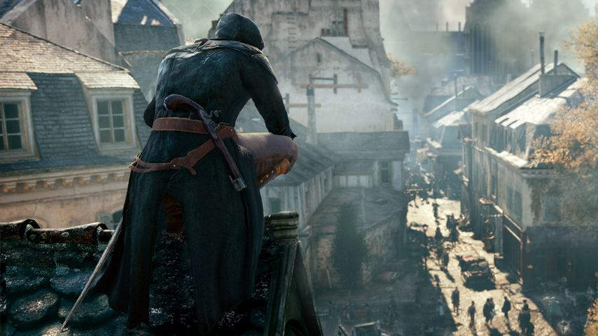 GC 2014 : Assassin's Creed Unity présente son terrain de jeu
