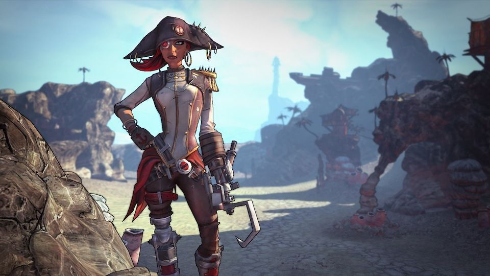 Borderlands 2: Le Capitaine Scarlett et son butin de pirate