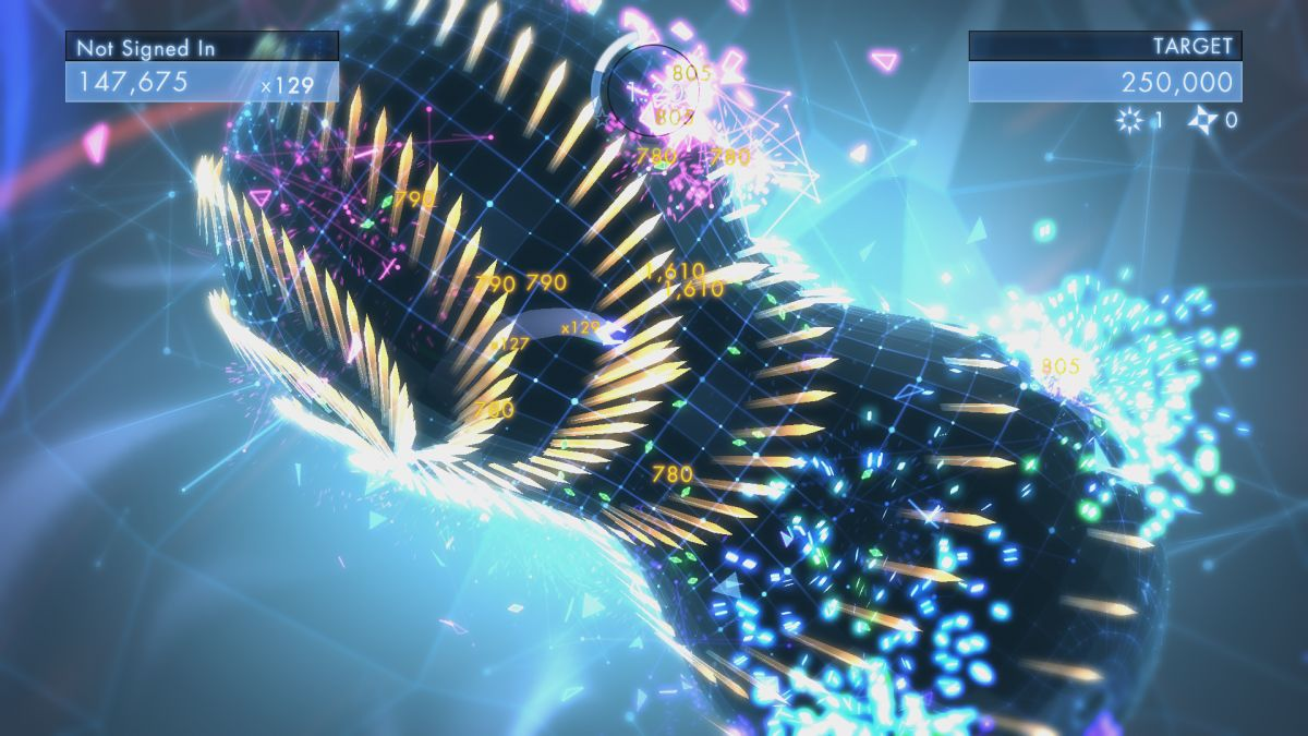Geometry Wars 3 : Du gameplay pour le reboot !