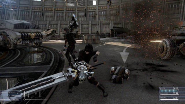Final Fantasy XV : Un question-réponse riche en informations