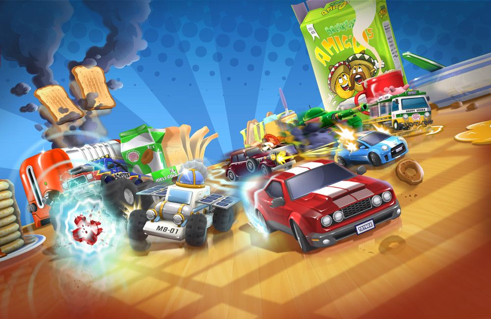 Codemasters annonce ToyBox Turbos