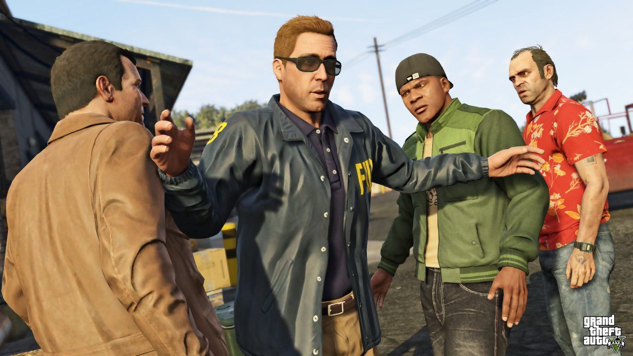 GTA V : Le plein d'images HD !