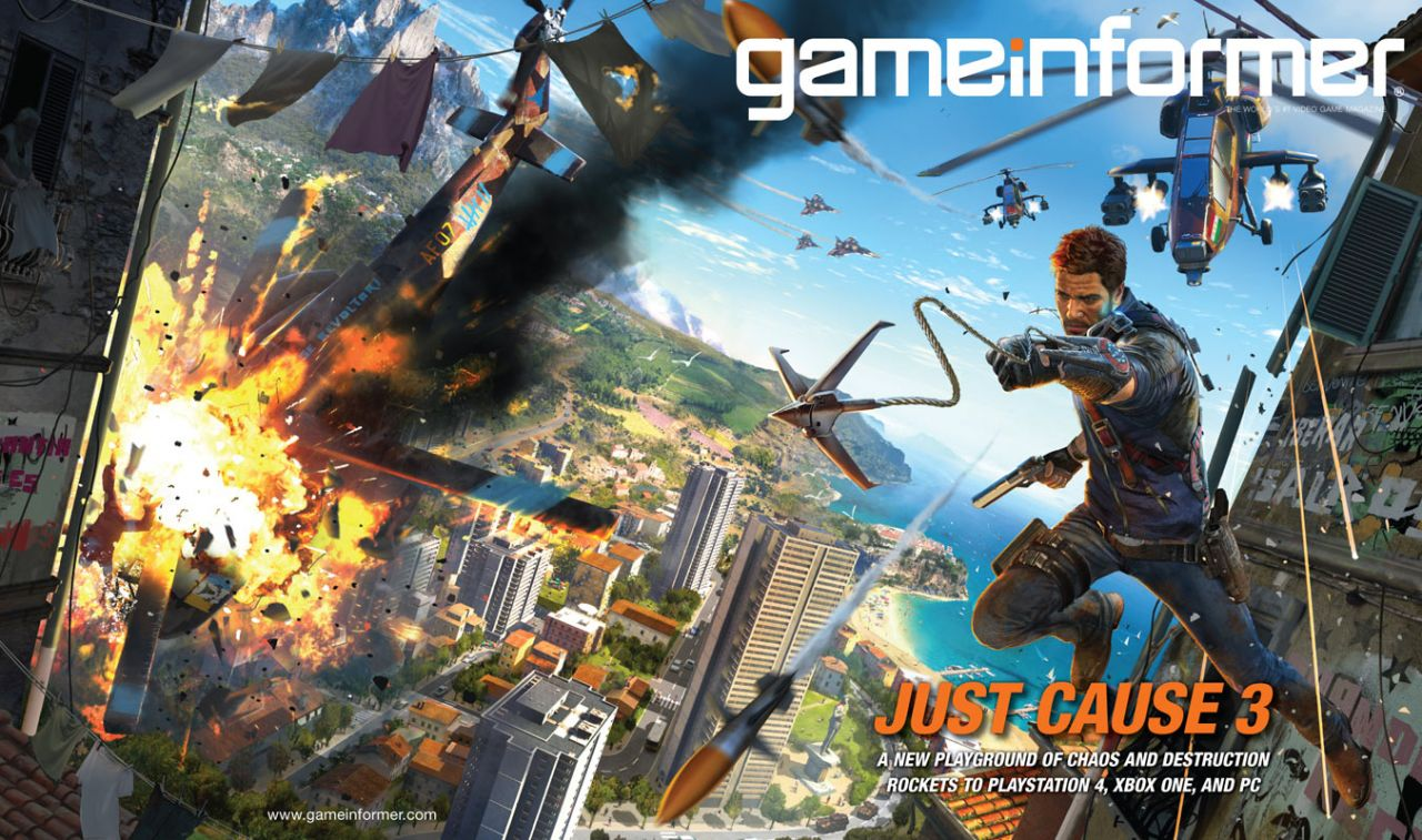 Just Cause 3 : C'est officiel !