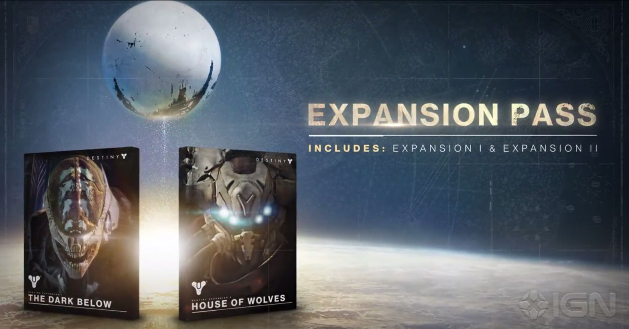 Destiny : Bungie dévoile son Expansion pass