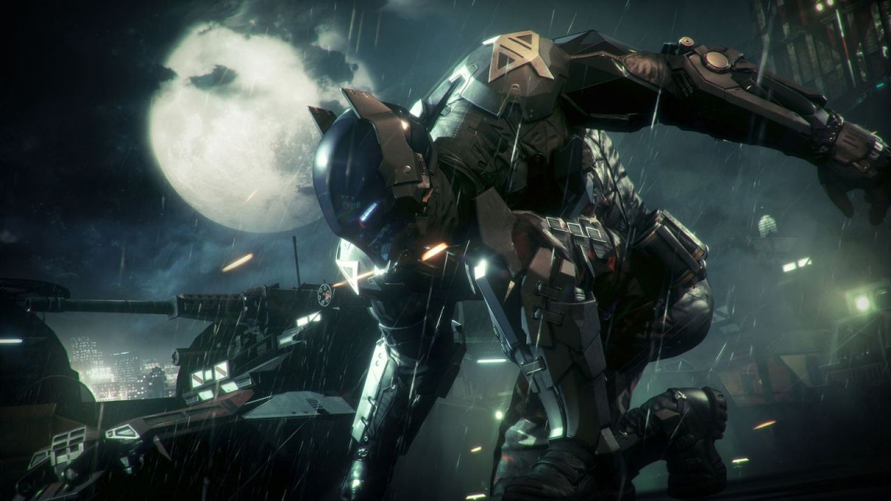 Batman Arkham Knight : La batmobile sort du garage !