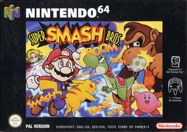 Back to the Future : 17 Décembre 1999 - Super Smash Bros N64