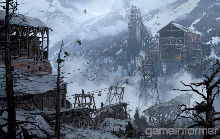 Rise of the Tomb Raider : Des artworks sublimes