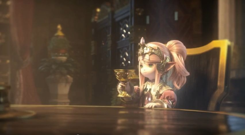 Final Fantasy XIV Heavensward: Cinématique d'intro
