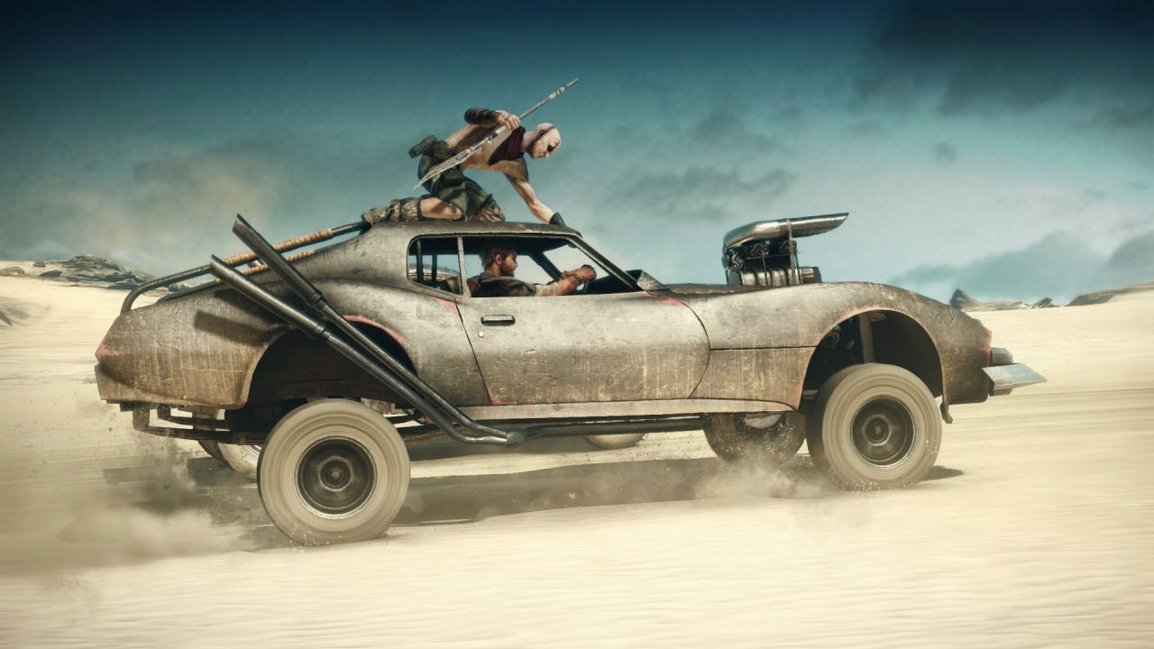 Mad Max : 4 minutes de gameplay !