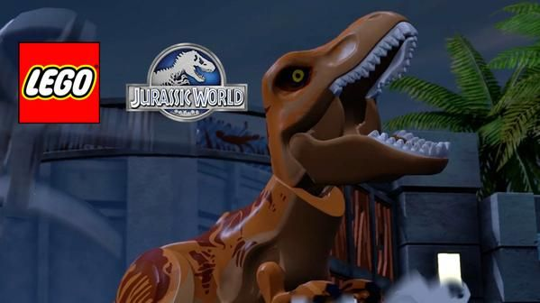 Lego Jurassic World : Un nouveau trailer !