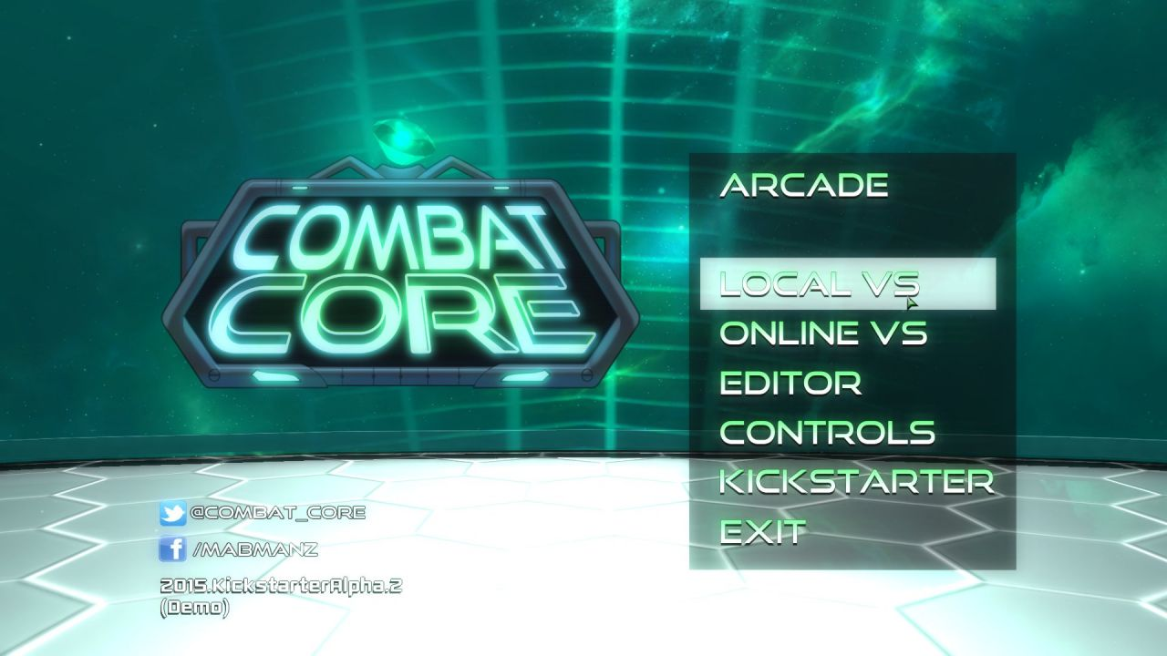 Combat core: Un power stone like en projet Kickstarter