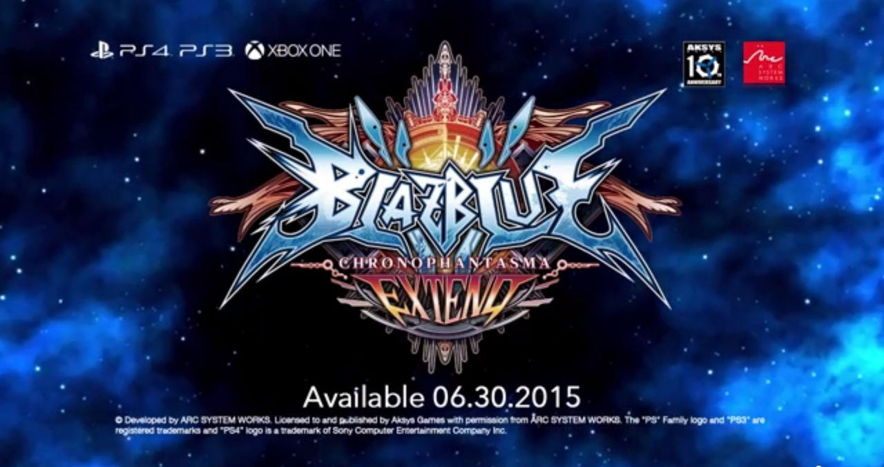 Blazblue Chronophantasma extend : Le 30 juin aux Etats-Unis