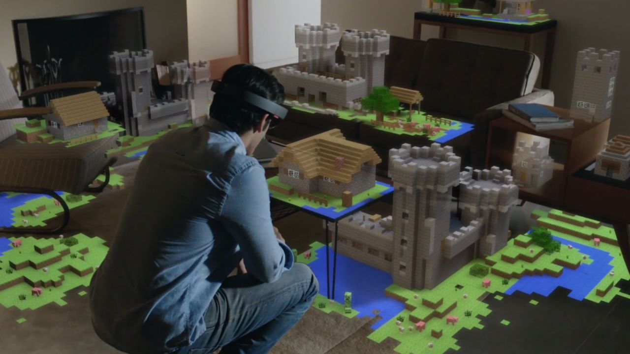 Hololens : Minecraft plus vrai que nature ! (E3)