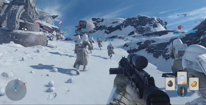 Star Wars Battlefront : Une vidéo de gameplay exclusive (E3)