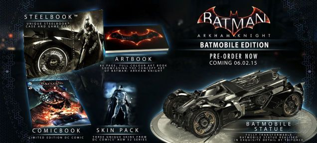 Batman Arkham Knight : L'édition