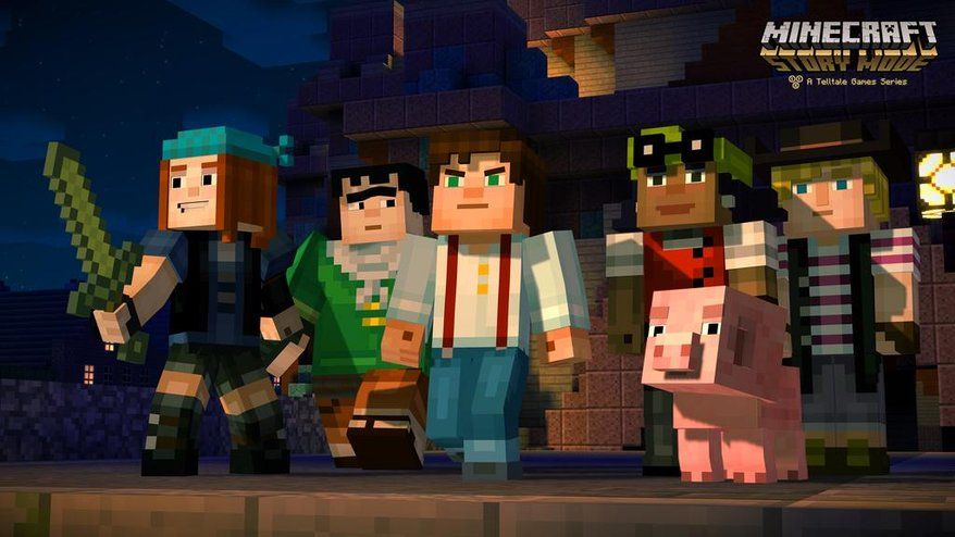 Minecraft Story Mode : Un trailer prometteur...
