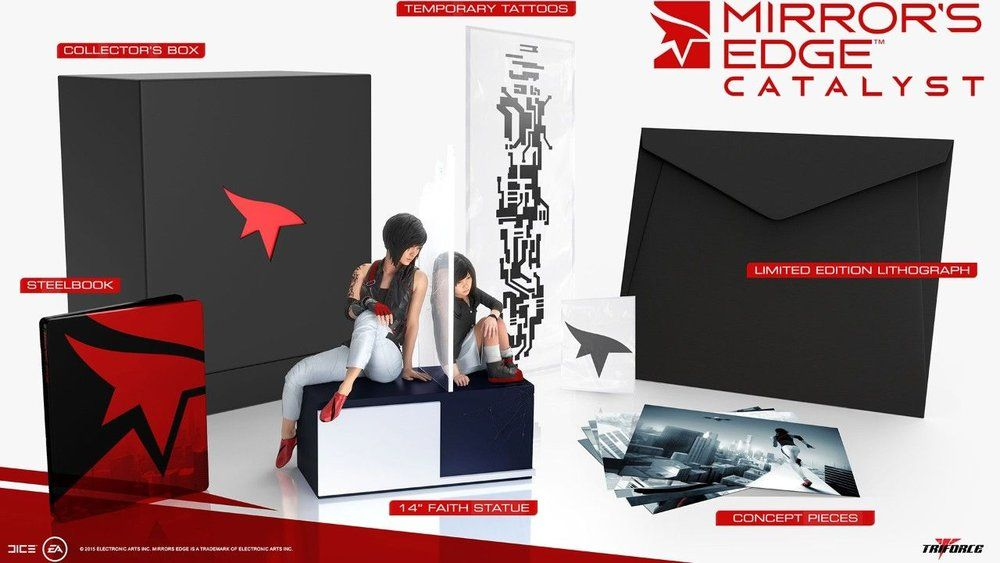Mirror's Edge Catalyst : L'édition collector dévoilée