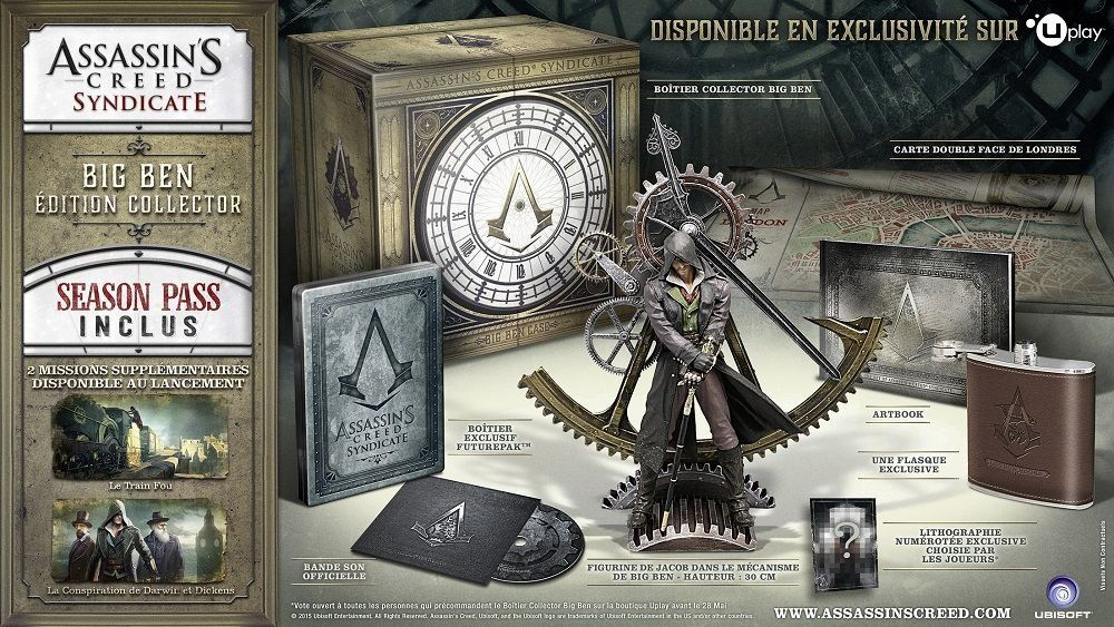 Assassin's Creed Syndicate : Big Ben à l'honneur dans le collector