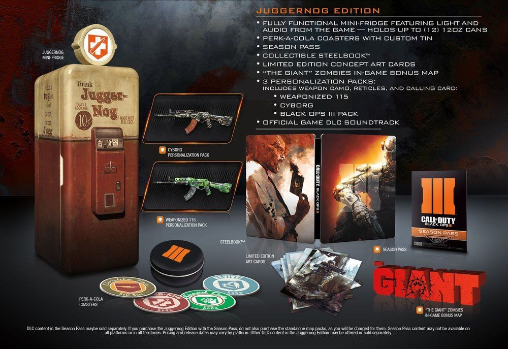 COD Black Ops 3 : Un collector très surprenant