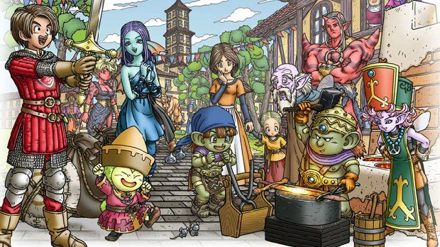 Dragon Quest XI : Du gameplay et un nouveau support