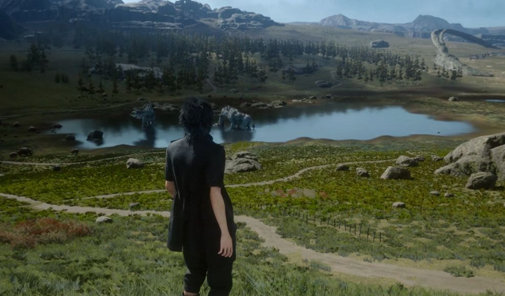 Final Fantasy XV : La mini vidéo de gameplay d'une minute (GC)