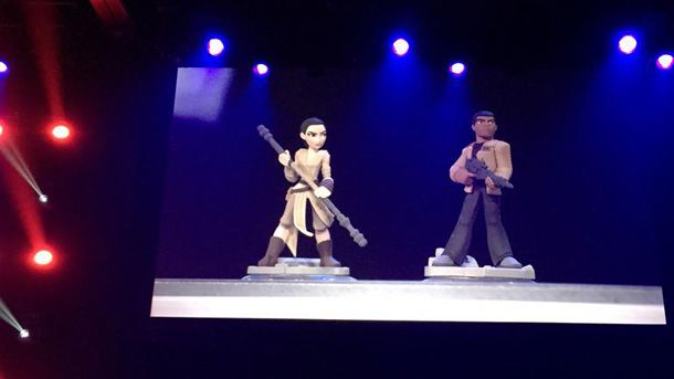 Disney Infinity 3.0 : Des figurines Star Wars épisode 7