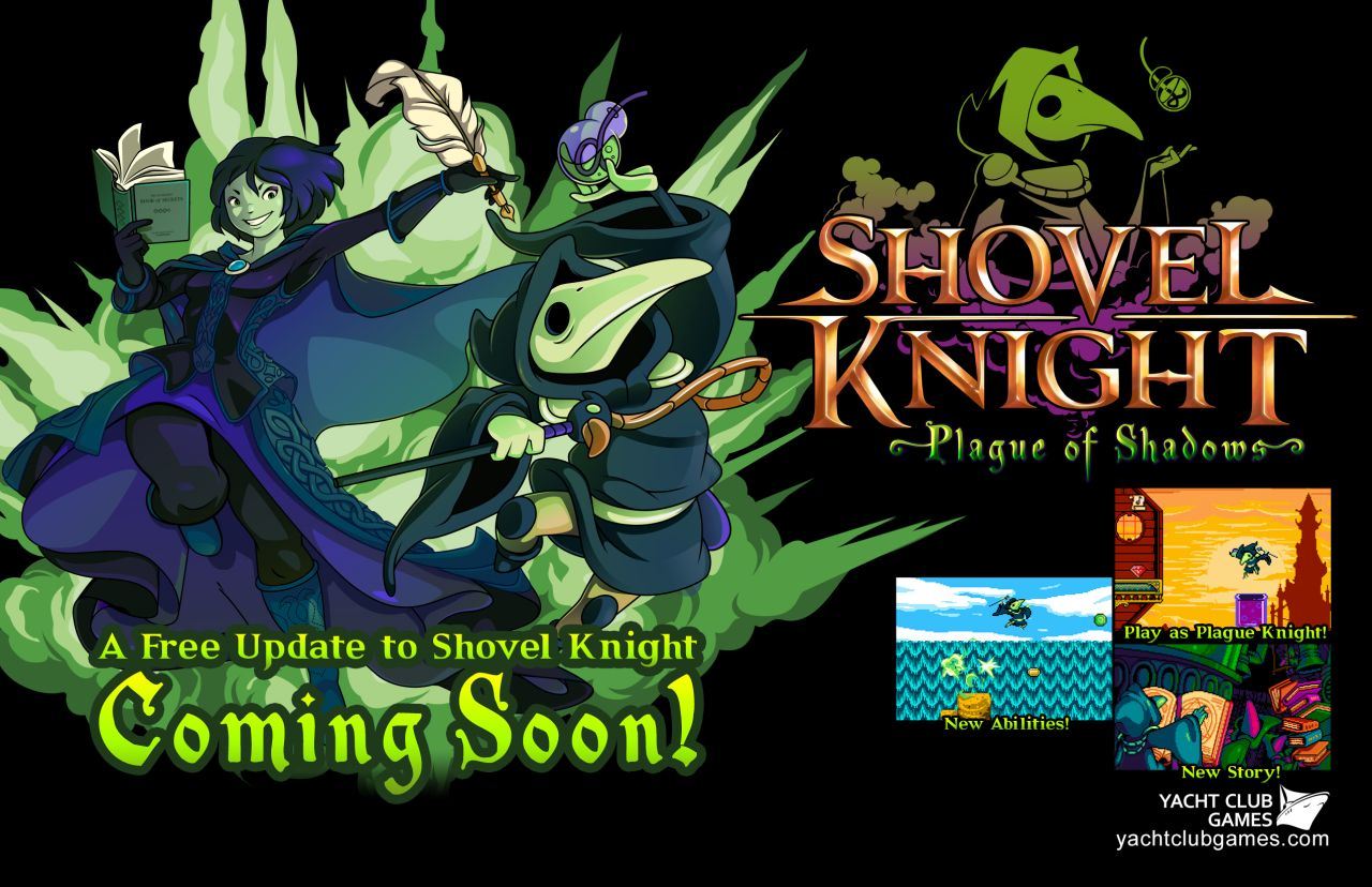 Shovel Knight : Le trailer du DLC Plague of Shadows est arrivé