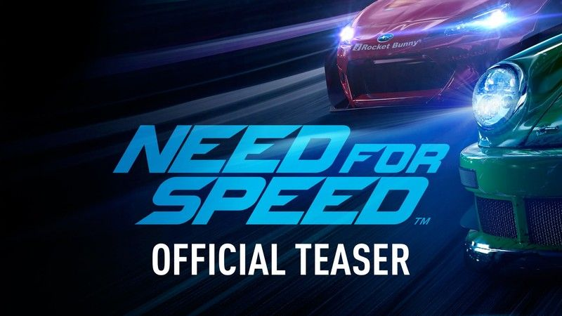Need for Speed : Le trailer du reboot de la saga !