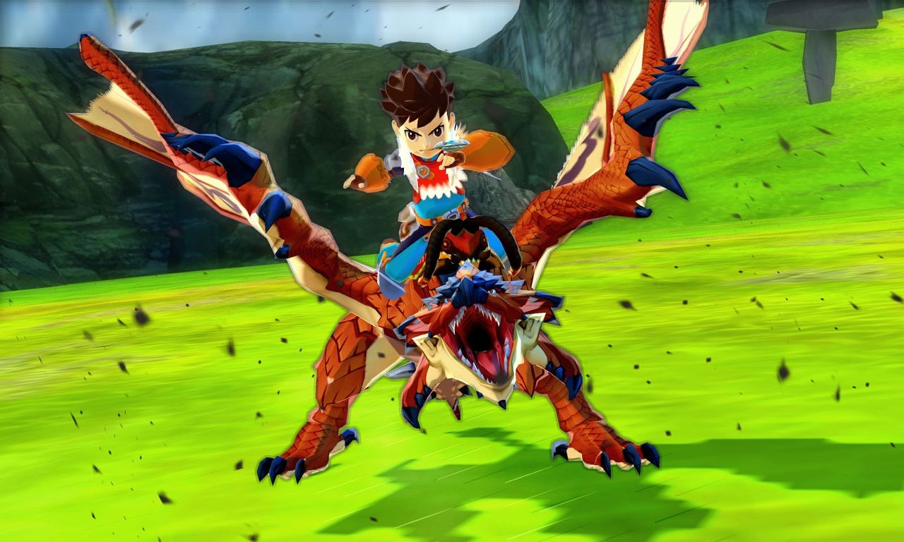 Monster Hunter Stories : Des images en haute définition