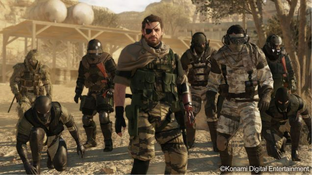 Metal Gear Online : Près de 11 minutes de gameplay