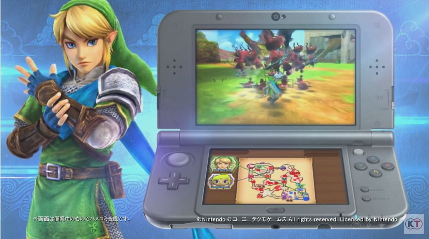 Hyrule Warriors Legends : Le producteur dévoile des informations importantes