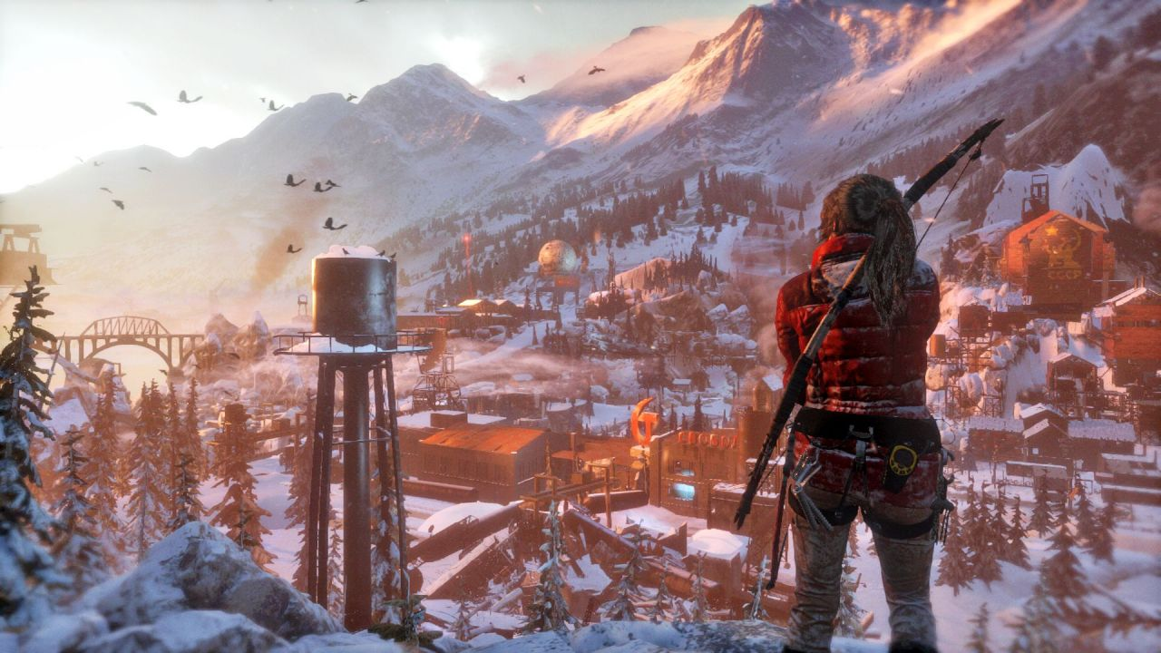 Rise of the Tomb Raider : Un trailer spécial 'Microsoft'