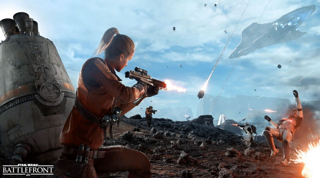 Star Wars Battlefront : Informations de la version Beta