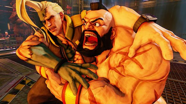 Street Fighter 5 : Zangief montre ses muscles