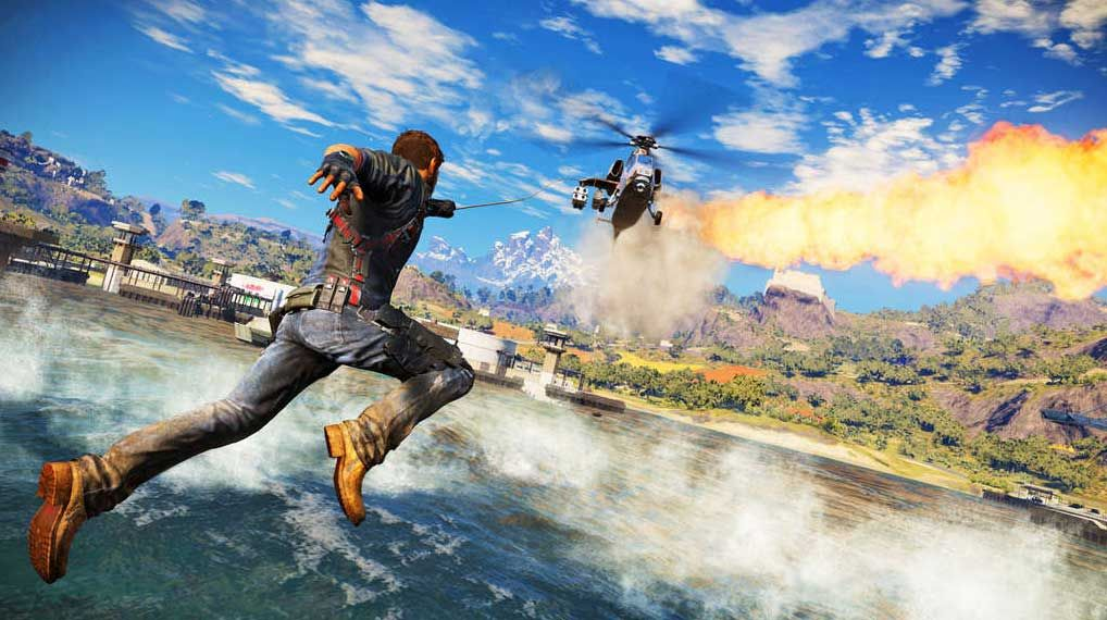 Just Cause 3 : Quelle taille pour cet open world ?