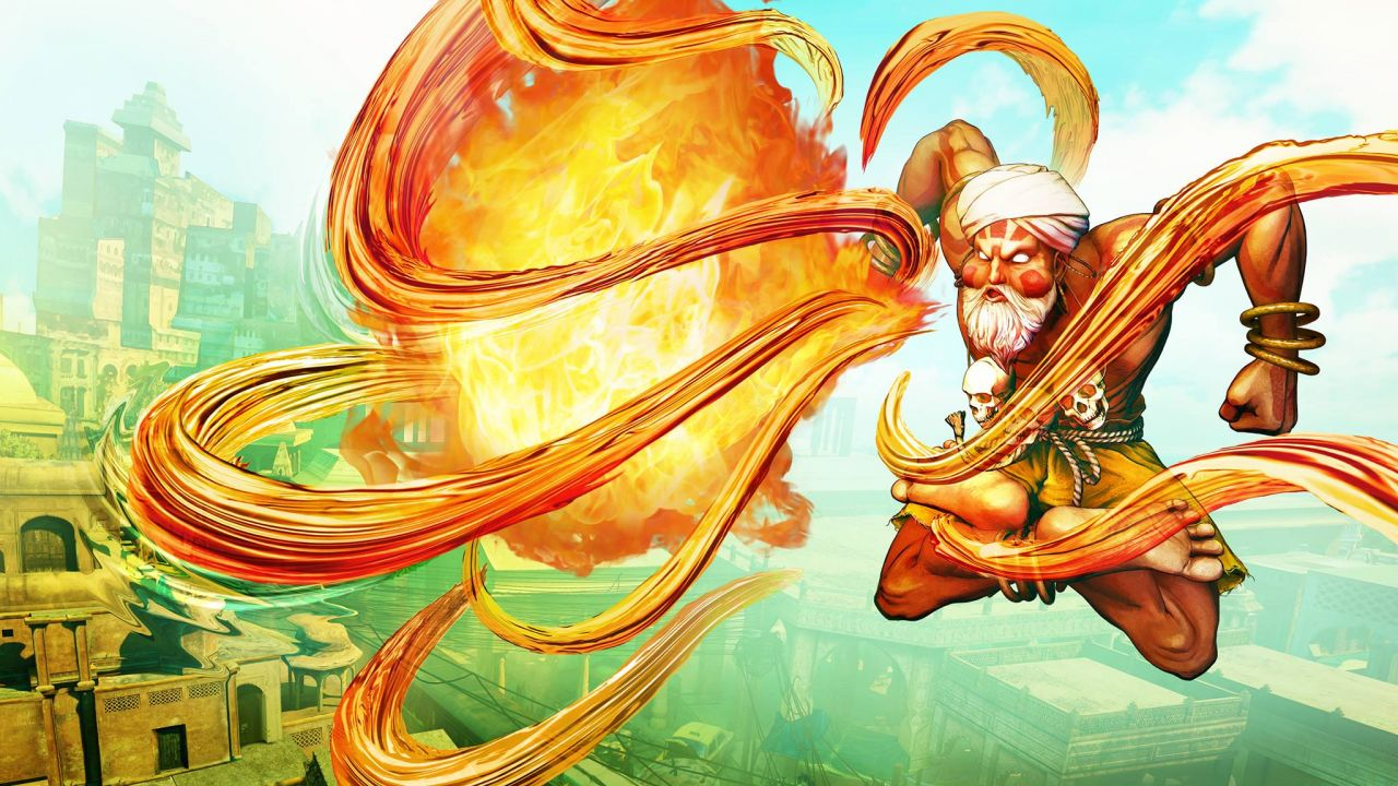 Street Fighter 5 : Dhalsim rallume la flamme