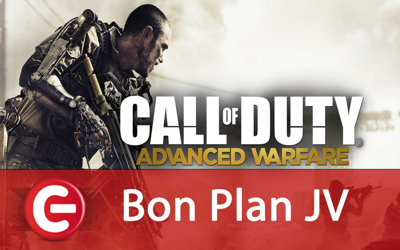 Bon Plan : Call of Duty Advanced Warefare édition GOLD à 30 euros