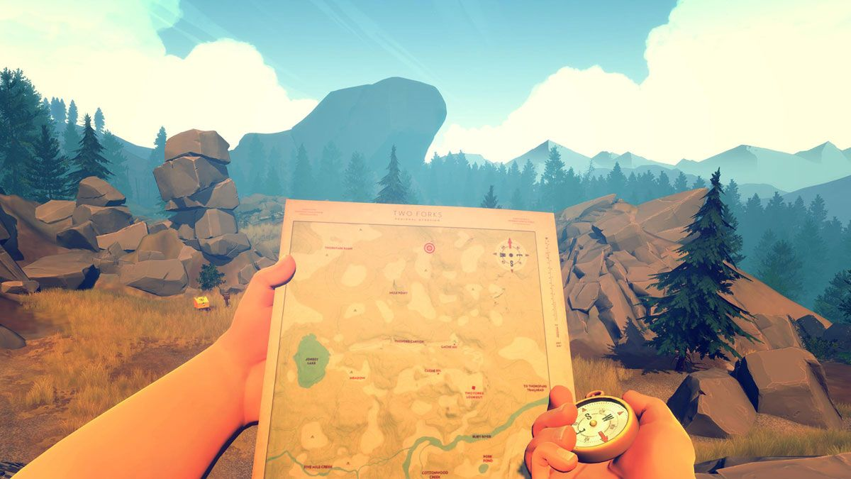 Firewatch : Plus de 17 minutes de gameplay dans la nature