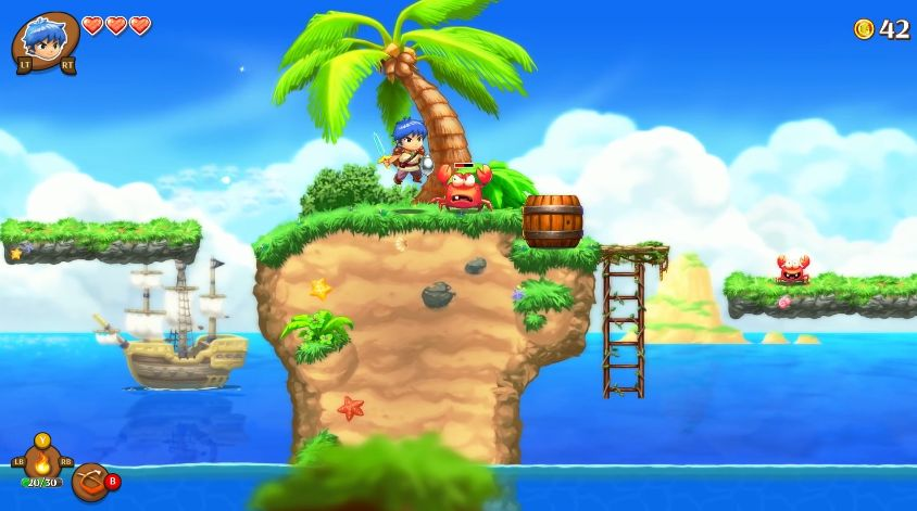 Monster Boy and the Cursed Kingdom : Un trailer mignon tout plein