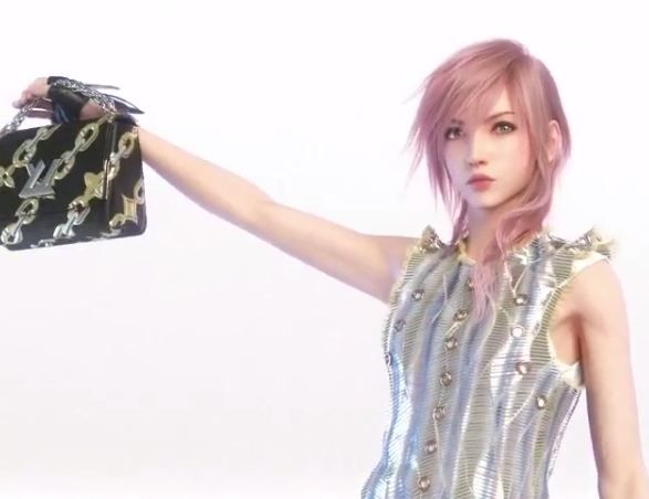 Square Enix : Lightning porte désormais du Louis Vitton