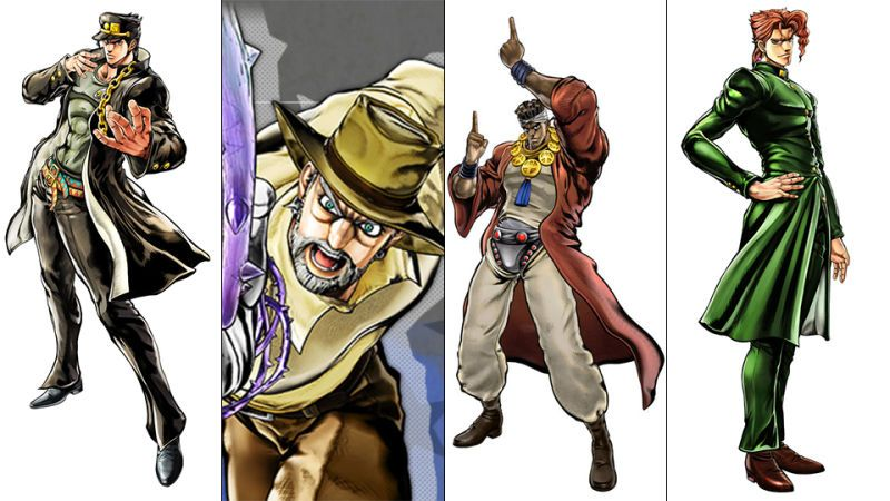 JoJo's Bizarre adventure eyes of heaven : Le casting complet
