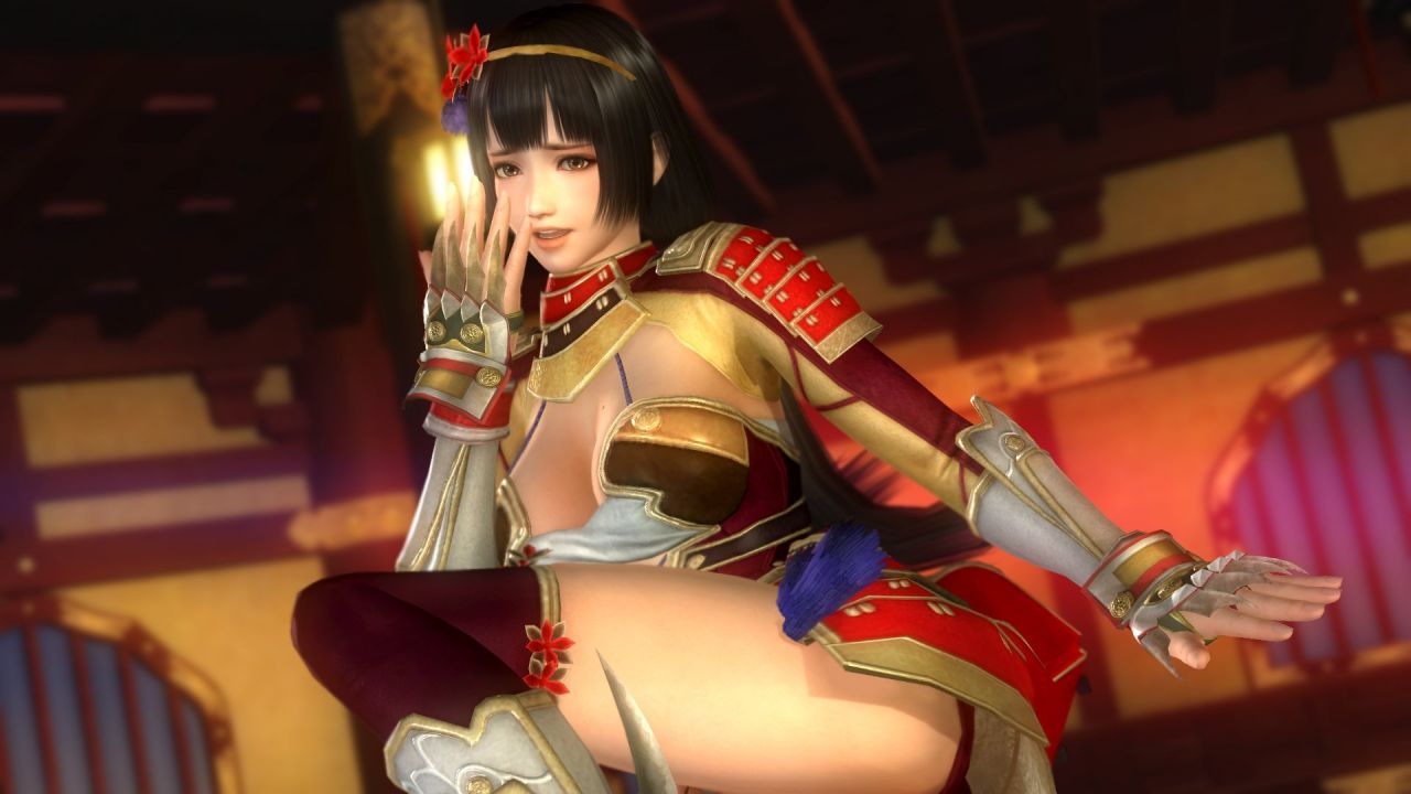 Dead or Alive 5 Last round : En mode Samurai Warriors