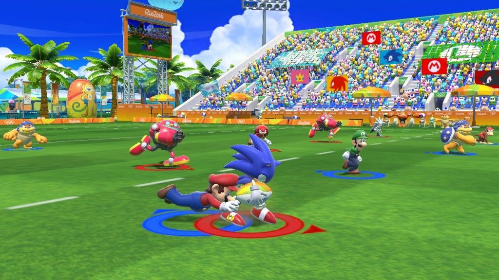 Mario et Sonic aux Jeux Olympiques de Rio 2016
