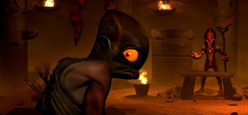 Oddworld New 'N' Tasty :  Une version boite arrive bientôt