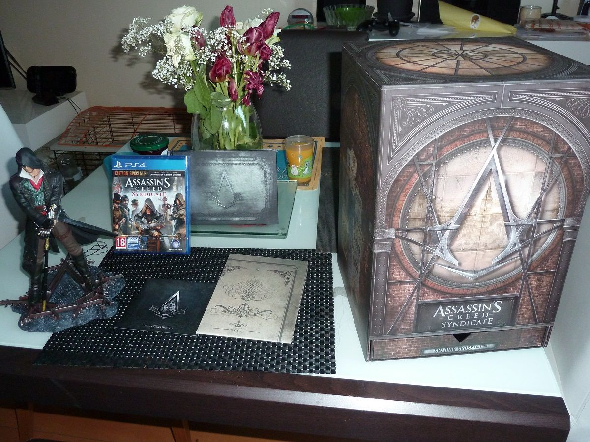 Unboxing : Assassin's Creed Syndicate - édition collector 'Charing Cross'