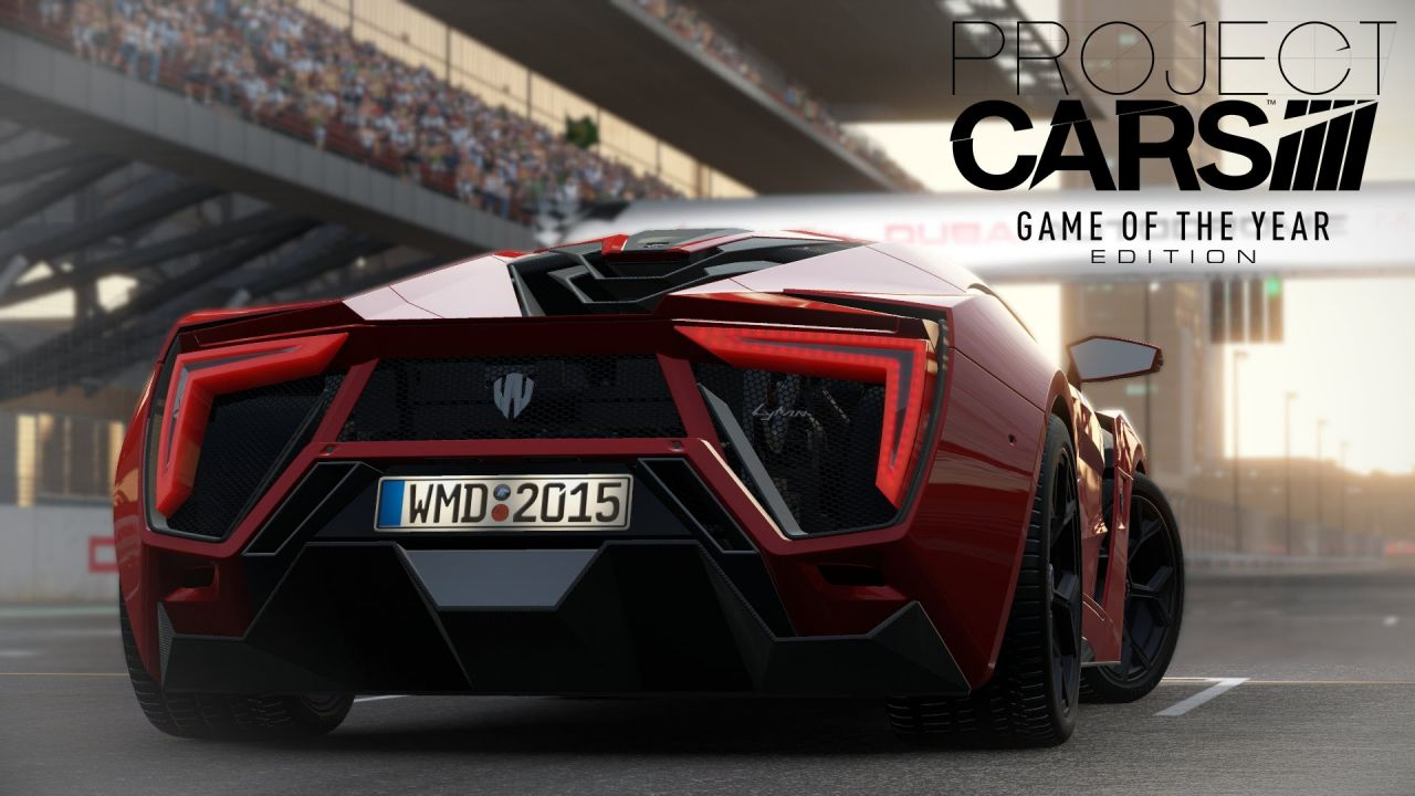 Project CARS Game Of The Year Edition : L'édition sort aujourd'hui !
