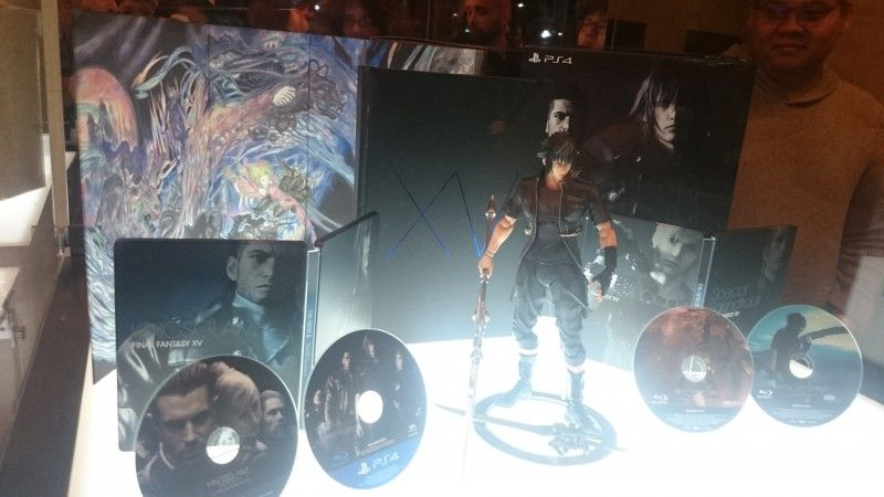 Final Fantasy XV : 10000 éditions supplémentaires de la version 'ultimate collector edition'