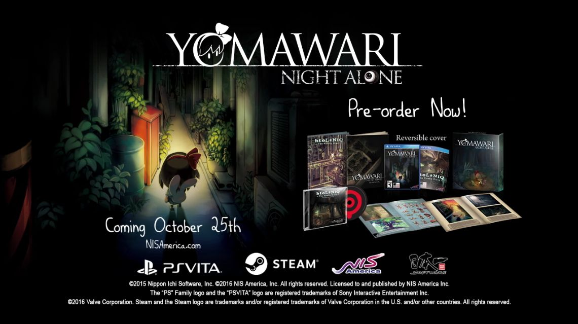 Yomawari Night Alone : Un trailer mignon qui cache un survival-horror !