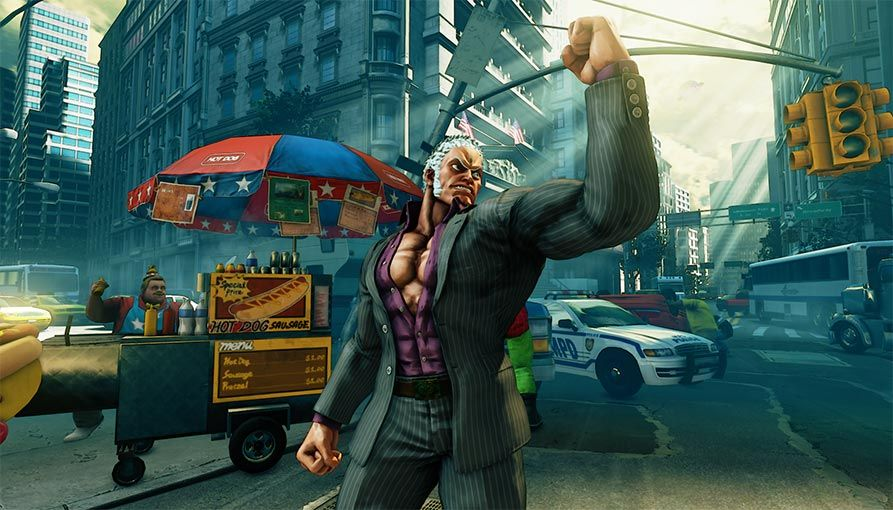 Street Fighter 5 : Trailer de Urien