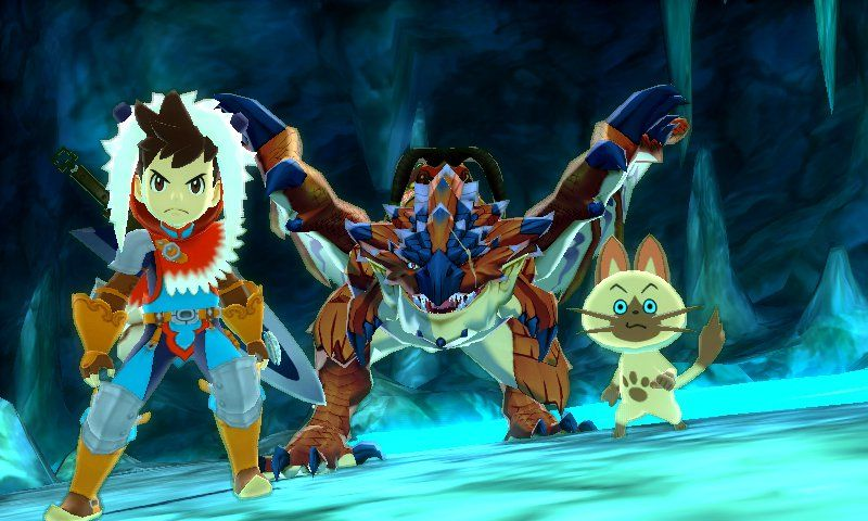 TGS : Capcom tease Monster Hunter Stories !